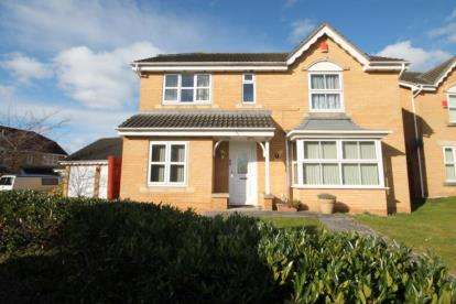 4 Bedrooms Detached House for sale in Corbett Close, North Yate, Bristol, South Gloucestershire