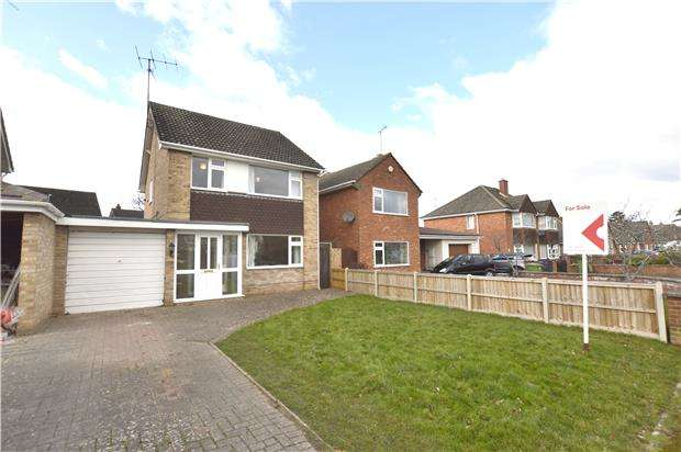 3 Bedrooms Detached House for sale in Southcourt Drive, CHELTENHAM, Gloucestershire, GL53 0BU