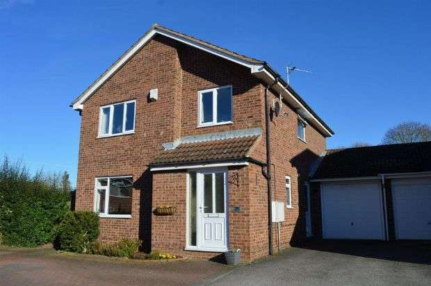 4 Bedrooms Detached House for sale in Fishers Close, Little Billing, Northampton NN3 9SR