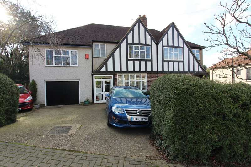 4 Bedrooms Semi Detached House for sale in Charterhouse Road, Orpington, Kent, BR6 9EL