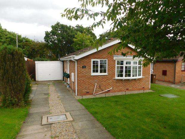 2 Bedrooms Detached Bungalow for sale in HEATHER LANE, CROOK, BISHOP AUCKLAND