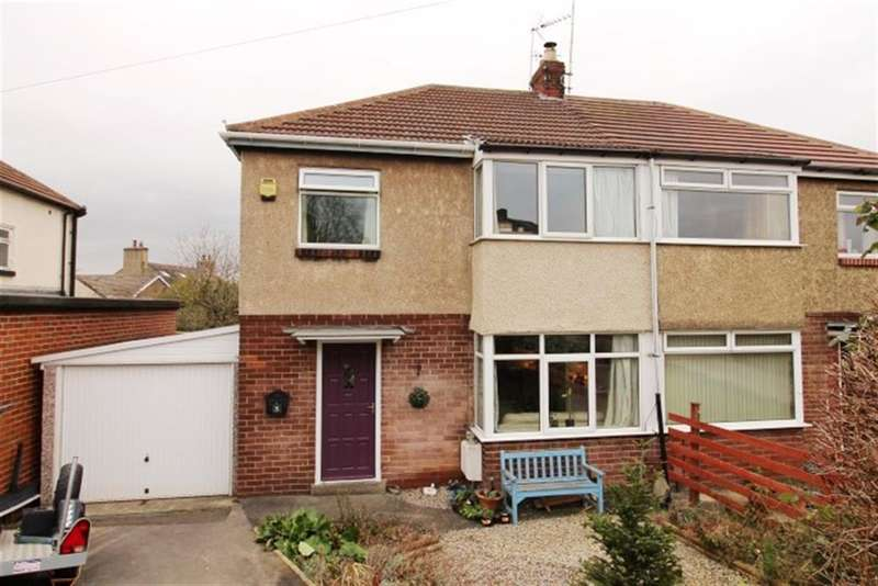 3 Bedrooms Semi Detached House for sale in Foxholes Lane, Calverley, Pudsey, LS28