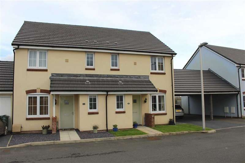 3 Bedrooms Semi Detached House for sale in Belfrey Close, Hubberston