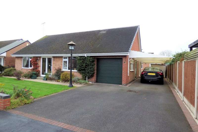 3 Bedrooms Detached Bungalow for sale in Beech Close, Uttoxeter