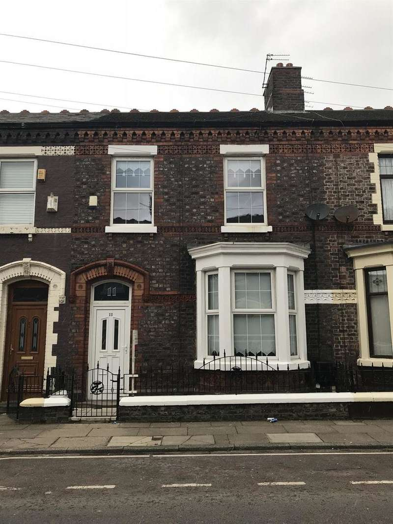 3 Bedrooms Terraced House for rent in Wylva Road, Liverpool, L4