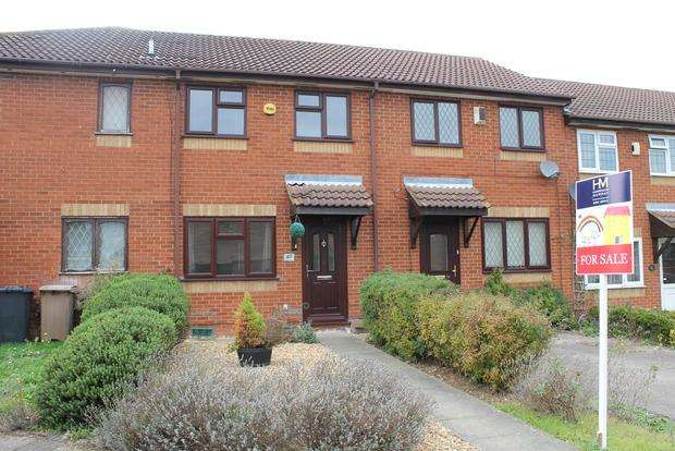 2 Bedrooms Terraced House for sale in Dexter Close, Luton, LU3