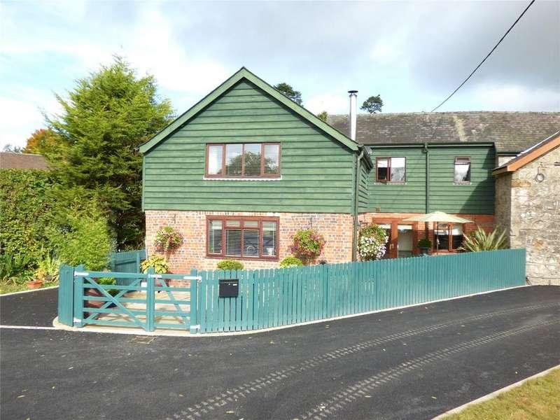 2 Bedrooms Semi Detached House for sale in Crossgates, Llandrindod Wells, Powys