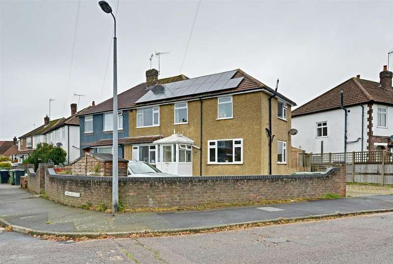 4 Bedrooms Semi Detached House for sale in Downlands Close, Bexhill-On-Sea