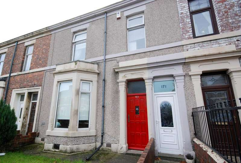 2 Bedrooms Flat for sale in Albert Road, Jarrow