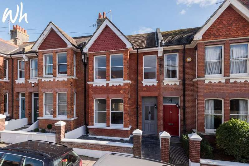 4 Bedrooms Terraced House for sale in Walpole Road, Brighton BN2
