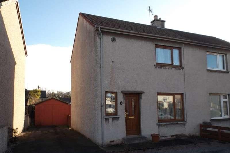 2 Bedrooms Semi Detached House for sale in Pringle Road, Elgin, IV30