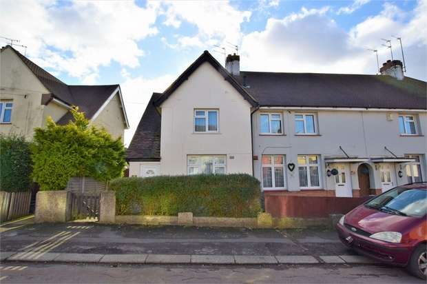 2 Bedrooms End Of Terrace House for sale in Kenmuir Crescent, Kingsley, NORTHAMPTON