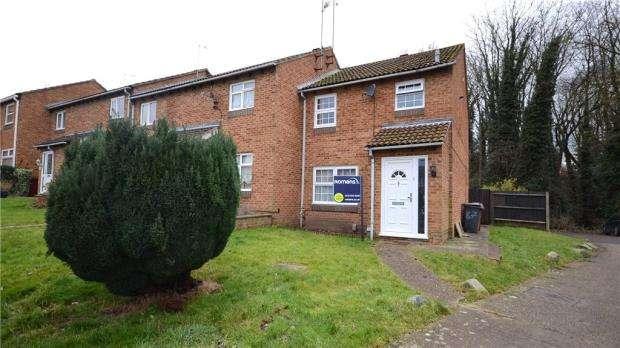 3 Bedrooms End Of Terrace House for sale in Wealden Way, Tilehurst, Reading