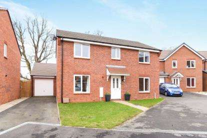 4 Bedrooms Detached House for sale in Hadlow Close, Redditch, Worcestershire