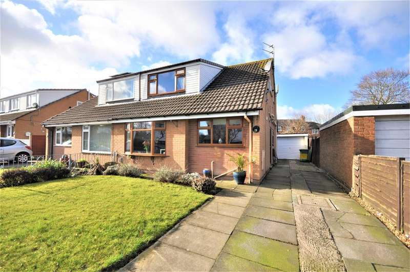 3 Bedrooms Semi Detached Bungalow for sale in Flaxfield Way, Kirkham, Preston, Lancashire, PR4 2AY
