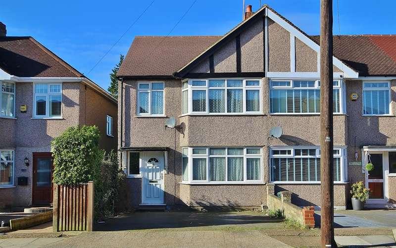 4 Bedrooms End Of Terrace House for sale in Denecroft Crescent, Hillingdon, Middlesex, UB10 9HU