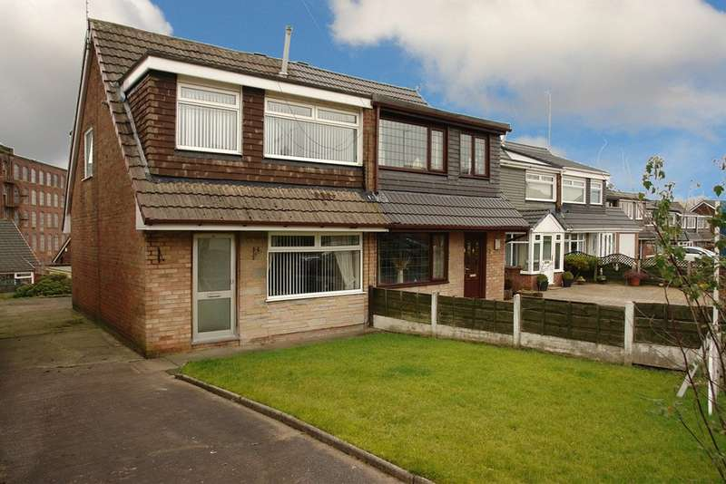 3 Bedrooms Semi Detached House for sale in Devonport Crescent, Royton