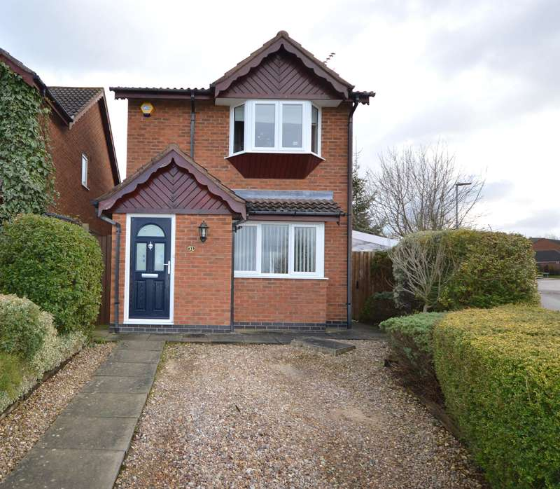 3 Bedrooms Detached House for sale in Machin Drive, Broughton Astley, Leicester, LE9 6HP
