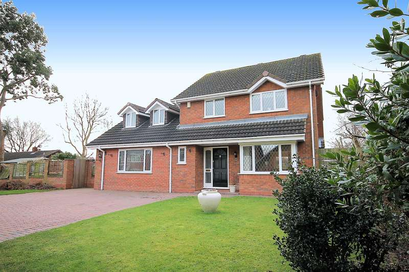 4 Bedrooms Detached House for sale in Chandlers Drive, Tamworth, B77 4NY