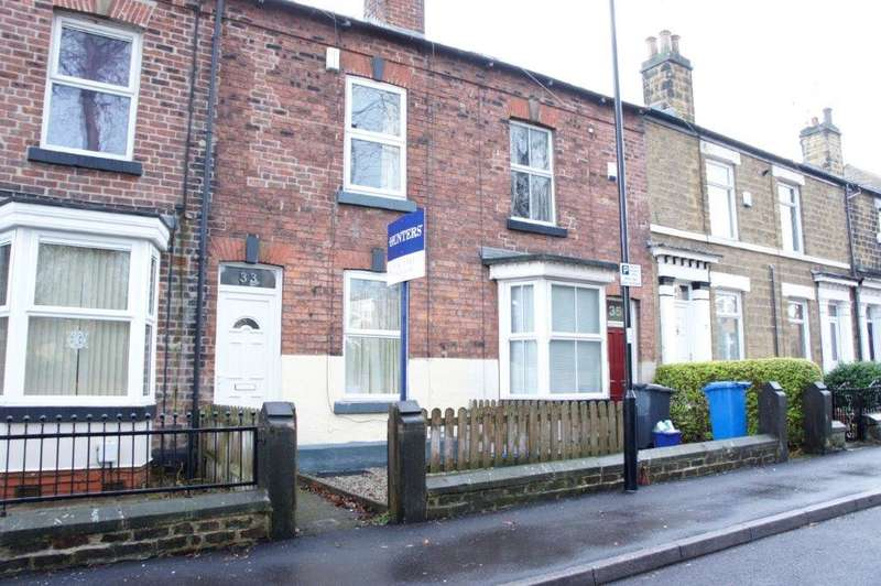 3 Bedrooms Terraced House for sale in Burrowlee Road, Hillsborough, Sheffield, S6 2AT