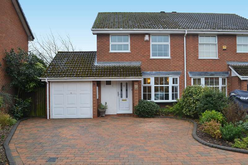 3 Bedrooms Semi Detached House for sale in Admiral Parker Drive, Shenstone, Lichfield, WS14 0NS