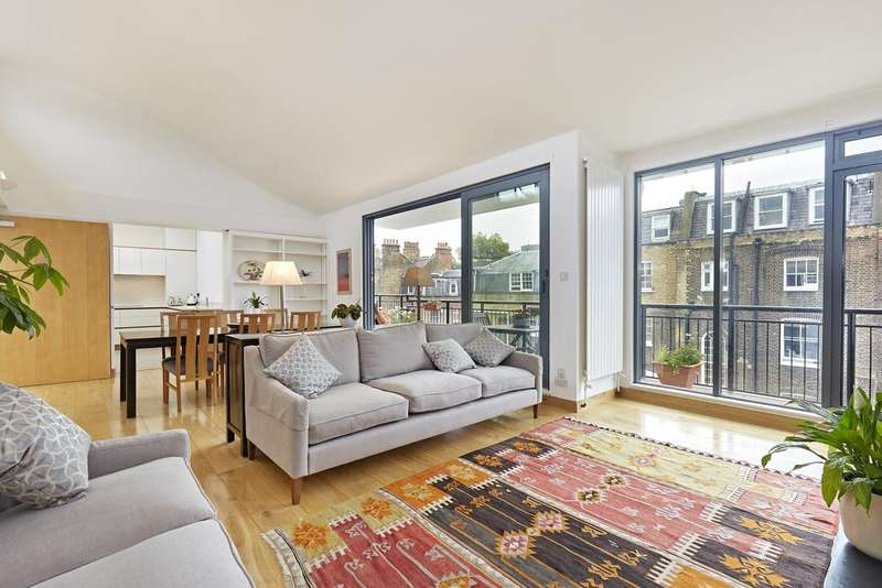 3 Bedrooms Flat for rent in North Mews, Bloomsbury, London