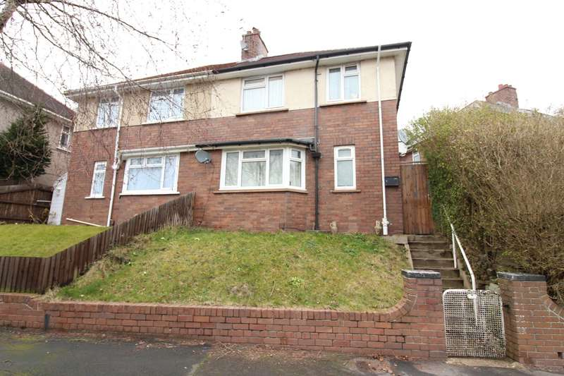 3 Bedrooms Semi Detached House for sale in Brynglas Avenue, Newport, NP20