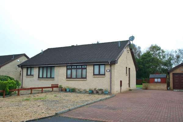 2 Bedrooms Semi Detached Bungalow for sale in 32 Green Bank Road, Cumbernauld, Glasgow, G68 9BY