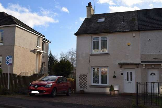 3 Bedrooms End Of Terrace House for sale in 129 Aros Drive, Mosspark, G52
