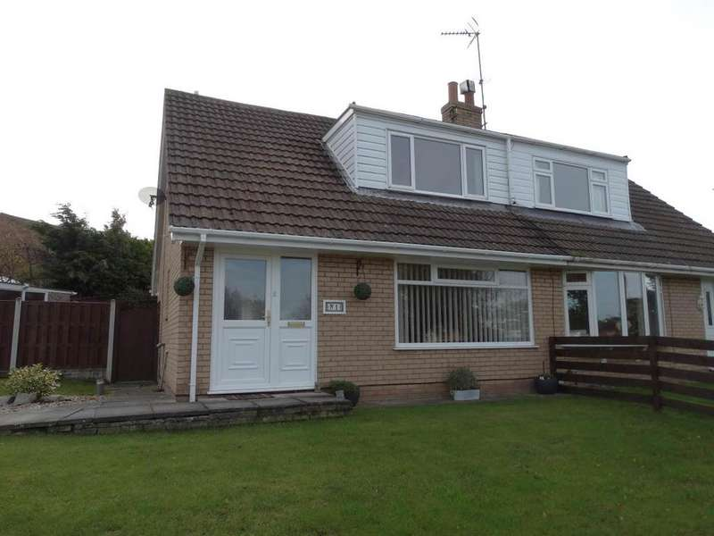 3 Bedrooms Semi Detached House for sale in 1 Wentworth Avenue, Upper Colwyn Bay, LL29 6DD