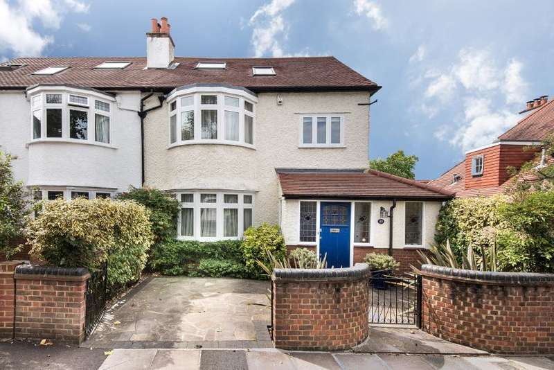 4 Bedrooms Semi Detached House for sale in Percival Road, East Sheen, SW14