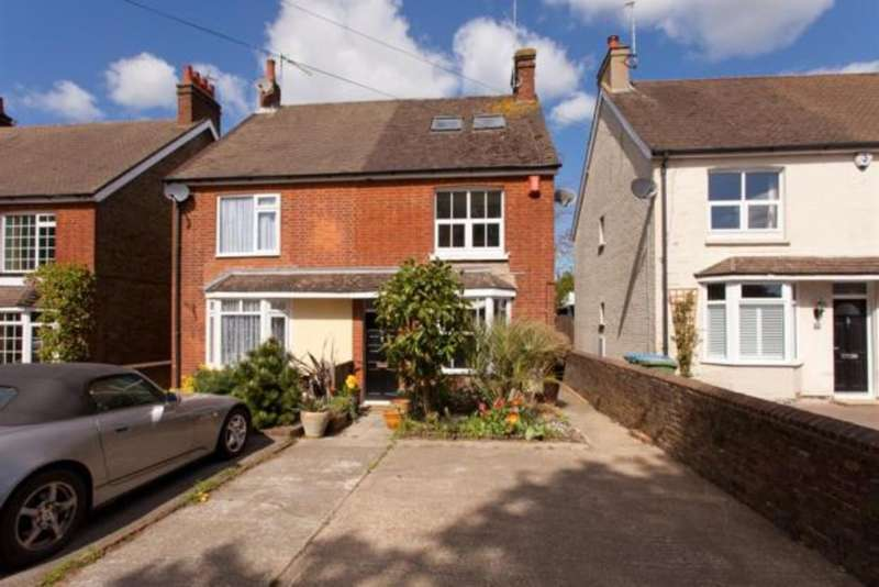 4 Bedrooms Semi Detached House for sale in Crawley Road, Horsham