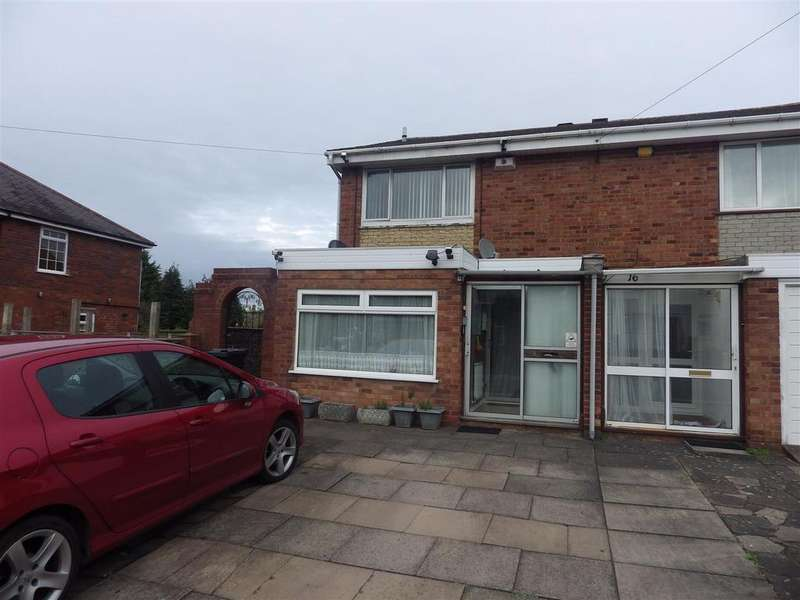 3 Bedrooms Semi Detached House for sale in Wassell Road, Halesowen