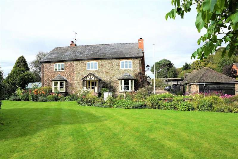 5 Bedrooms Detached House for sale in Stoke Prior, Leominster, Herefordshire, HR6
