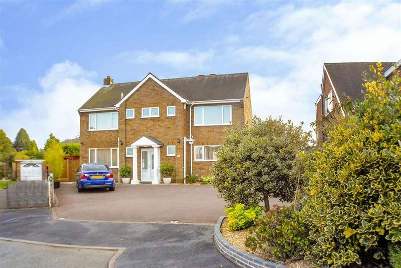 4 Bedrooms Detached House for sale in Robin Down Close, Mansfield