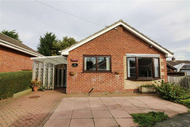 2 Bedrooms Detached Bungalow for sale in Westgate Meadows, Nafferton, East Yorkshire