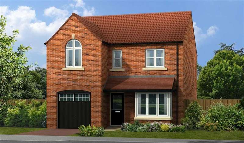 4 Bedrooms Detached House for sale in Windsor, Plot 85, Chesterfield Road, Matlock, Derbyshire, DE4