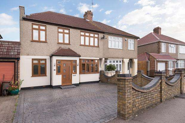 4 Bedrooms Semi Detached House for sale in Long Lane, Bexleyheath, DA7