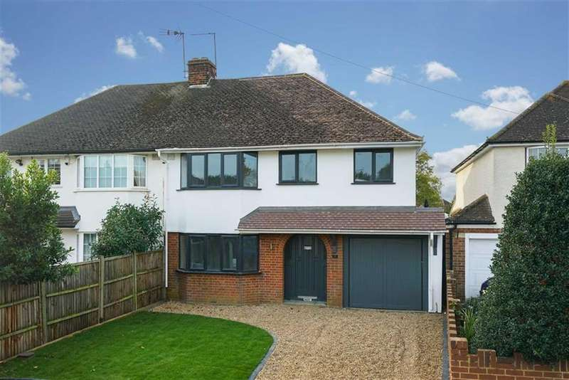 4 Bedrooms Semi Detached House for sale in Bullens Green Lane, Colney Heath, Hertfordshire