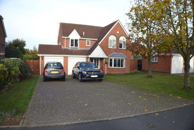 5 Bedrooms Detached House for sale in Almond Way, Lutterworth, LE17