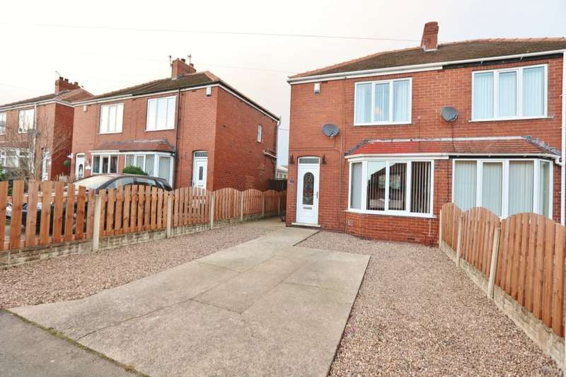 3 Bedrooms Semi Detached House for sale in West Avenue, Wombwell, Barnsley, S73