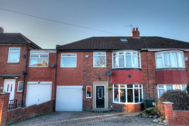 4 Bedrooms Semi Detached House for sale in Thornley Road, West Denton, Newcastle Upon Tyne, NE5