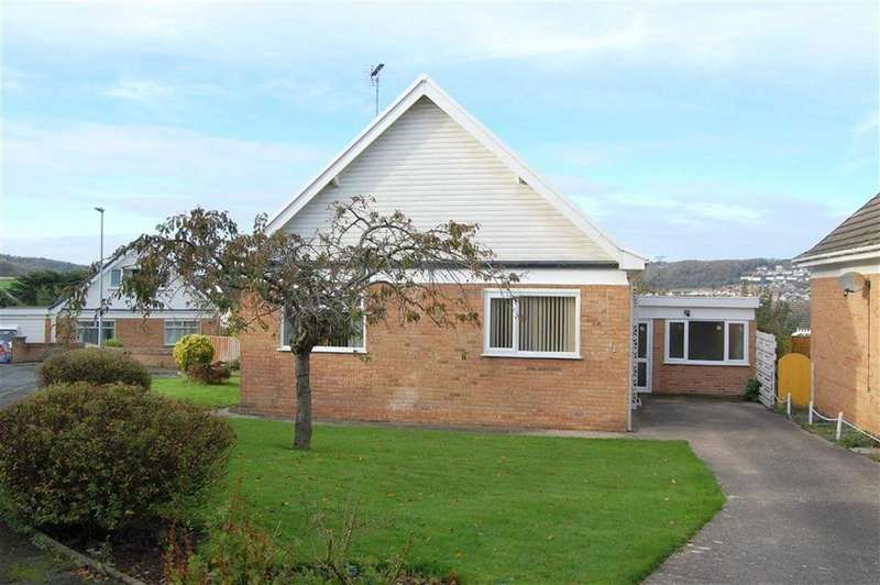 2 Bedrooms Detached Bungalow for sale in Dinerth Crescent, Rhos On Sea, Colwyn Bay