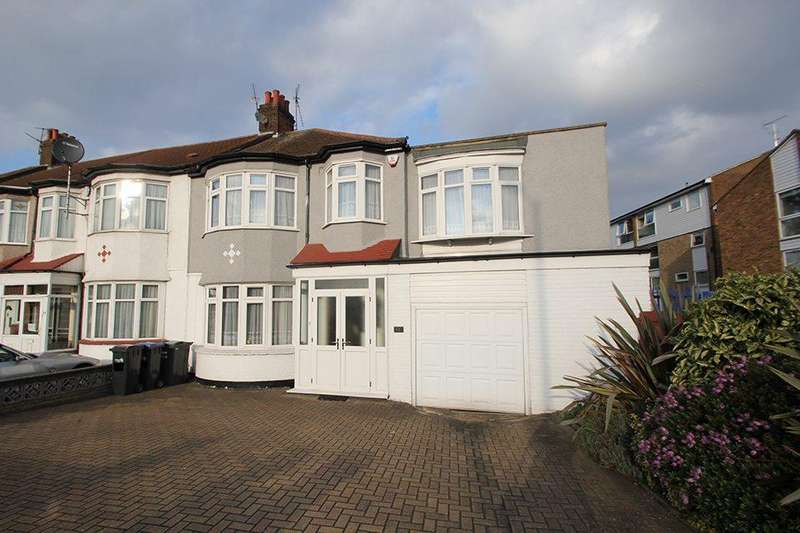4 Bedrooms End Of Terrace House for sale in Hedge Lane, Palmers Green, N13