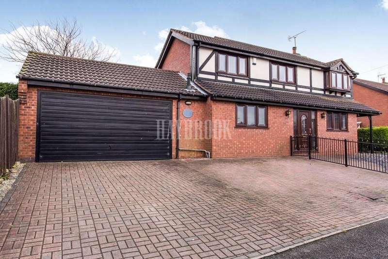 4 Bedrooms Detached House for sale in Ridgeway, Clowne