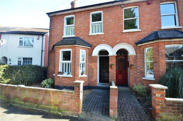 2 Bedrooms Semi Detached House for sale in Kings Ride, Camberley, Surrey