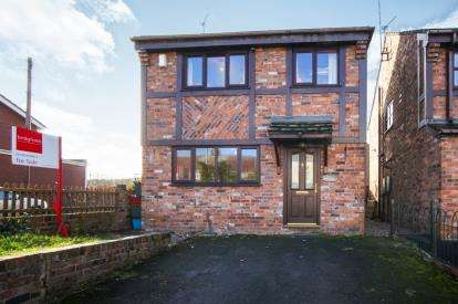 3 Bedrooms Detached House for sale in High Street, Halmer End, Stoke-On-Trent, Staffordshire