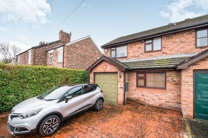 3 Bedrooms Semi Detached House for sale in Sandy Lane, Lymm, Cheshire