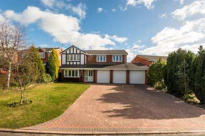 5 Bedrooms Detached House for sale in Cranmore Grove, Stone, Staffordshire
