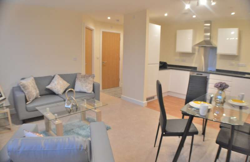 2 Bedrooms Apartment Flat for rent in Prosperity House, Gower Street, Derby DE1